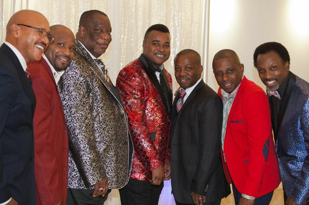 Dr. Apostle Michael Hunter celebrating with the members of the Apostolic Connection Fellowship!