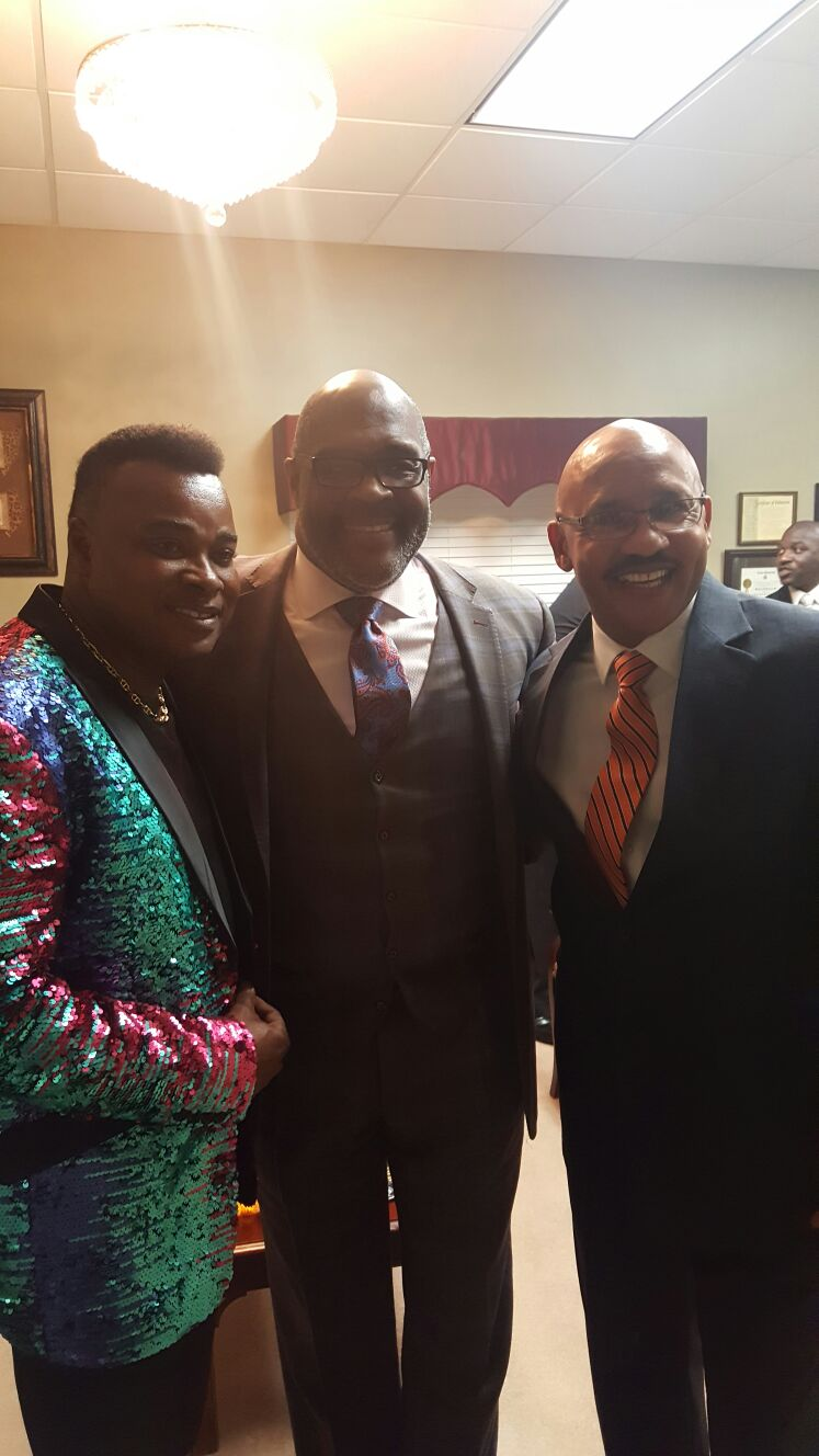 Grammy Award Winning Gospel Artist, Bishop Marvin Winans,  Bishop Searcy with Dr. Michael Hunter: 3 Major Generals of God.