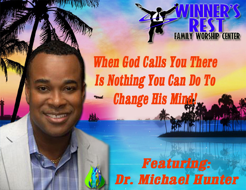 When God Calls You There is Nothing You can do to Change His mind!